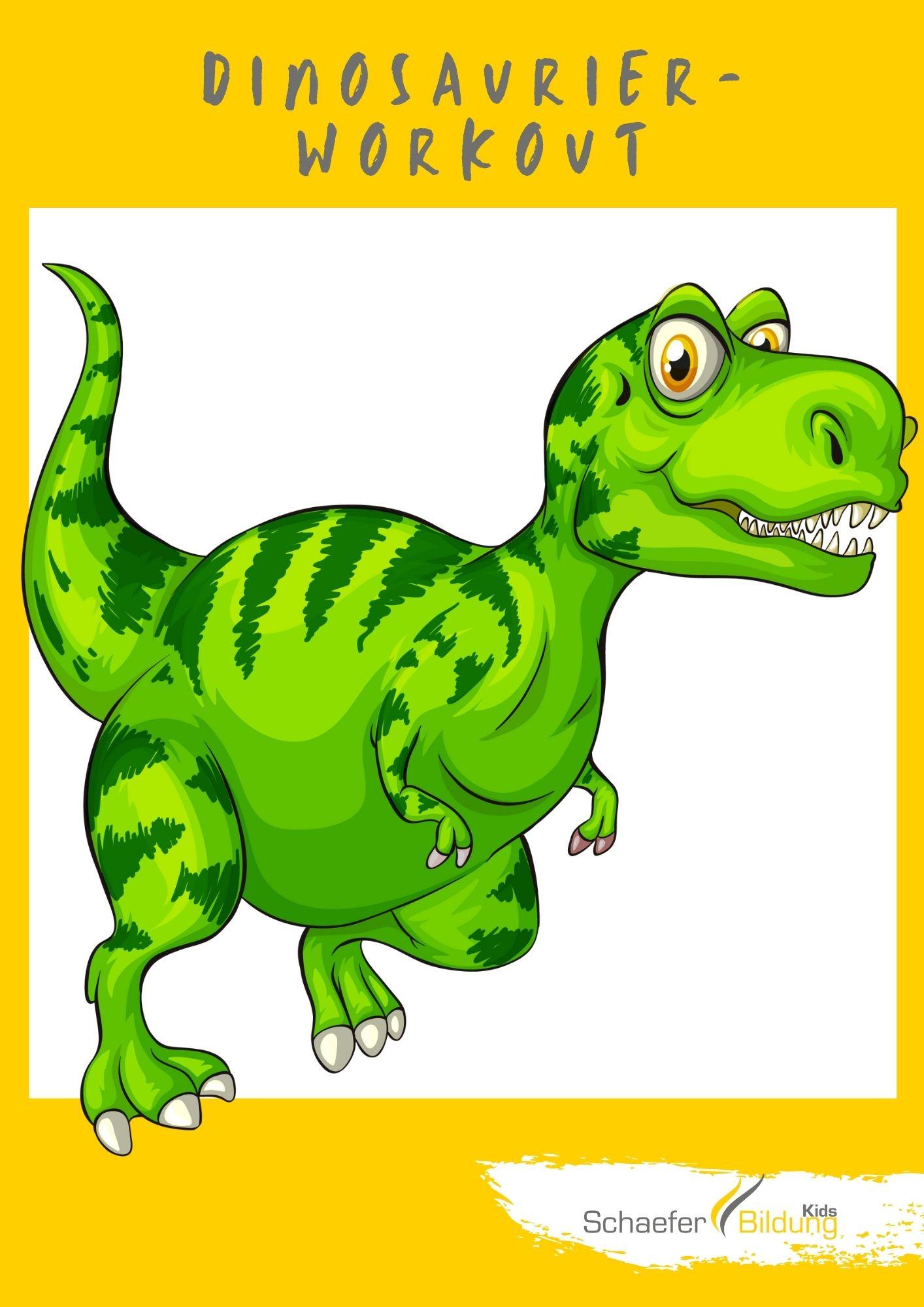 Dinosaurier Workout